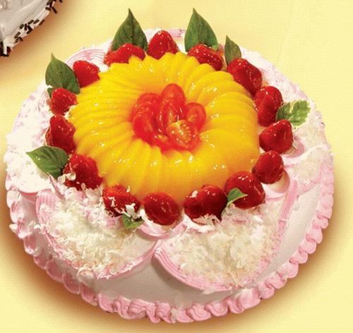 蛋糕 白雪香/生日祝福