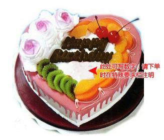 鲜花 蛋糕/生日祝福